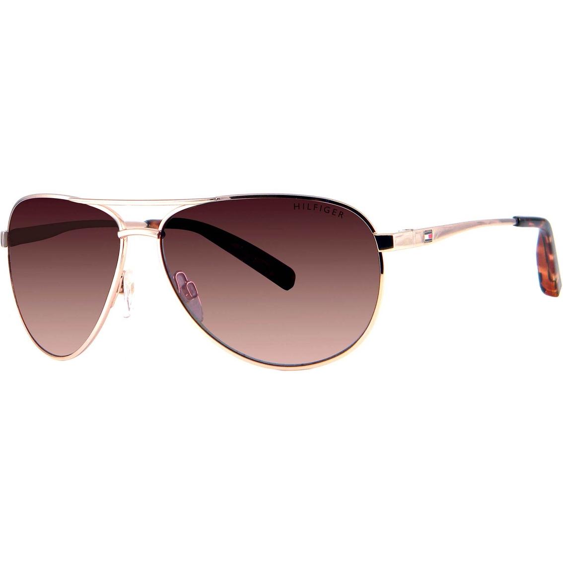 22d4ea7b68b Tommy Hilfiger Aviator Sunglasses Lad179
