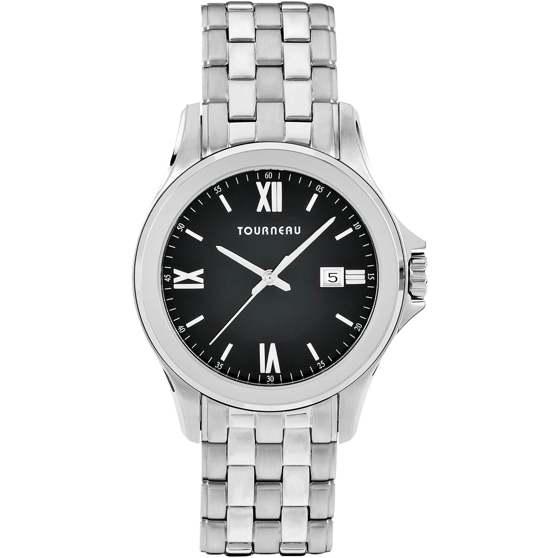Tourneau Women's Black Dial Watch 40mm Tmrb-b061 | Stainless