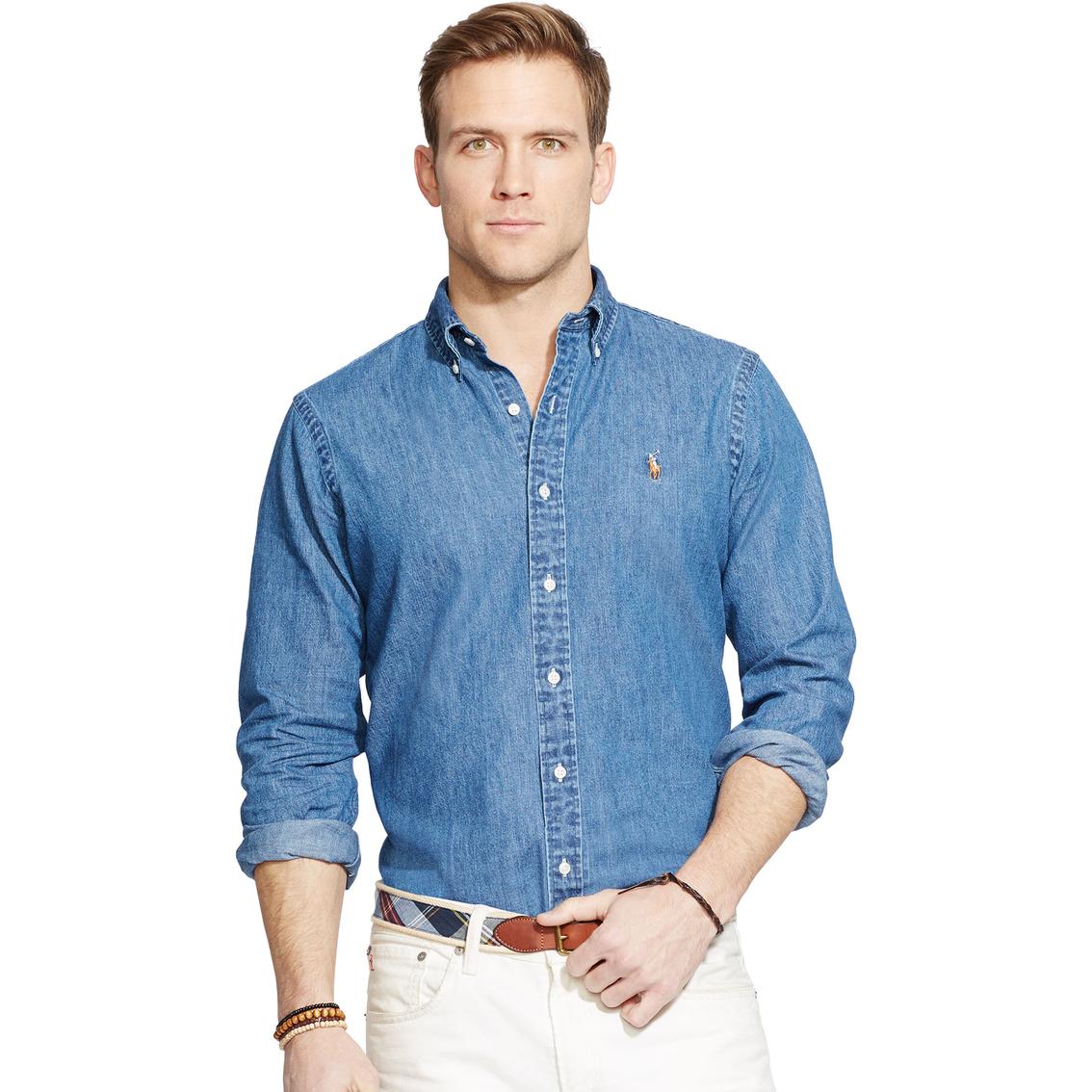 7f451c49 Polo Ralph Lauren Classic Fit Denim Shirt | Polo Ralph Lauren | Shop ...