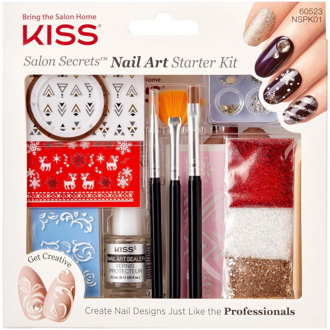 Kiss Salon Nail Art Starter Kit Nails Art Beauty Health