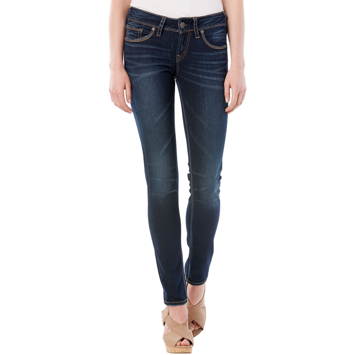 Silver Jeans Suki Mid Skinny Jeans | Jeans | Apparel | Shop The ...