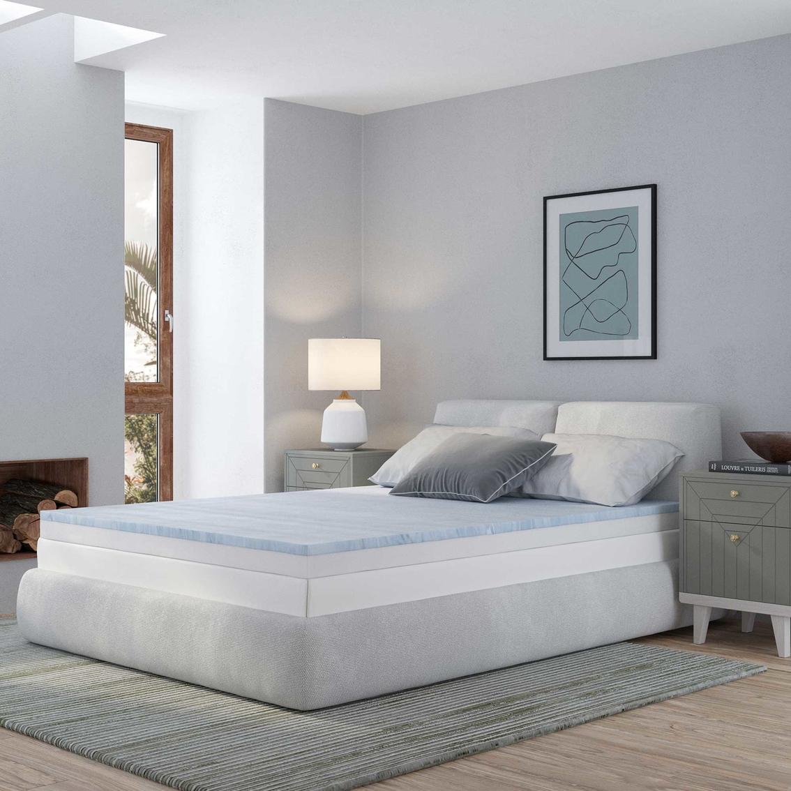 Snuggle Home 4 In Gel Memory Foam Mattress Invigorator