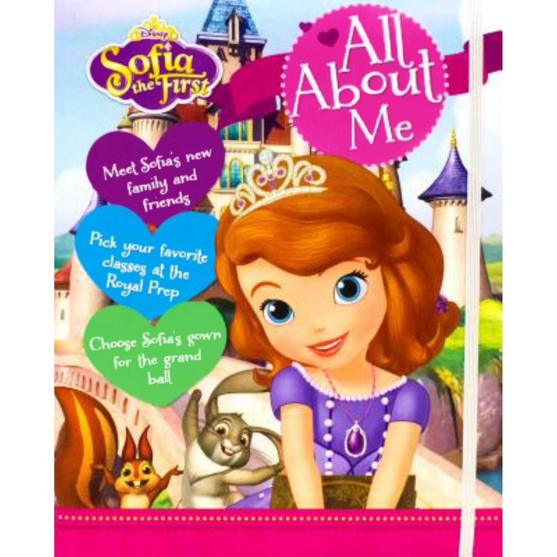 Disney Junior Sofia The First All About Me Children S Books