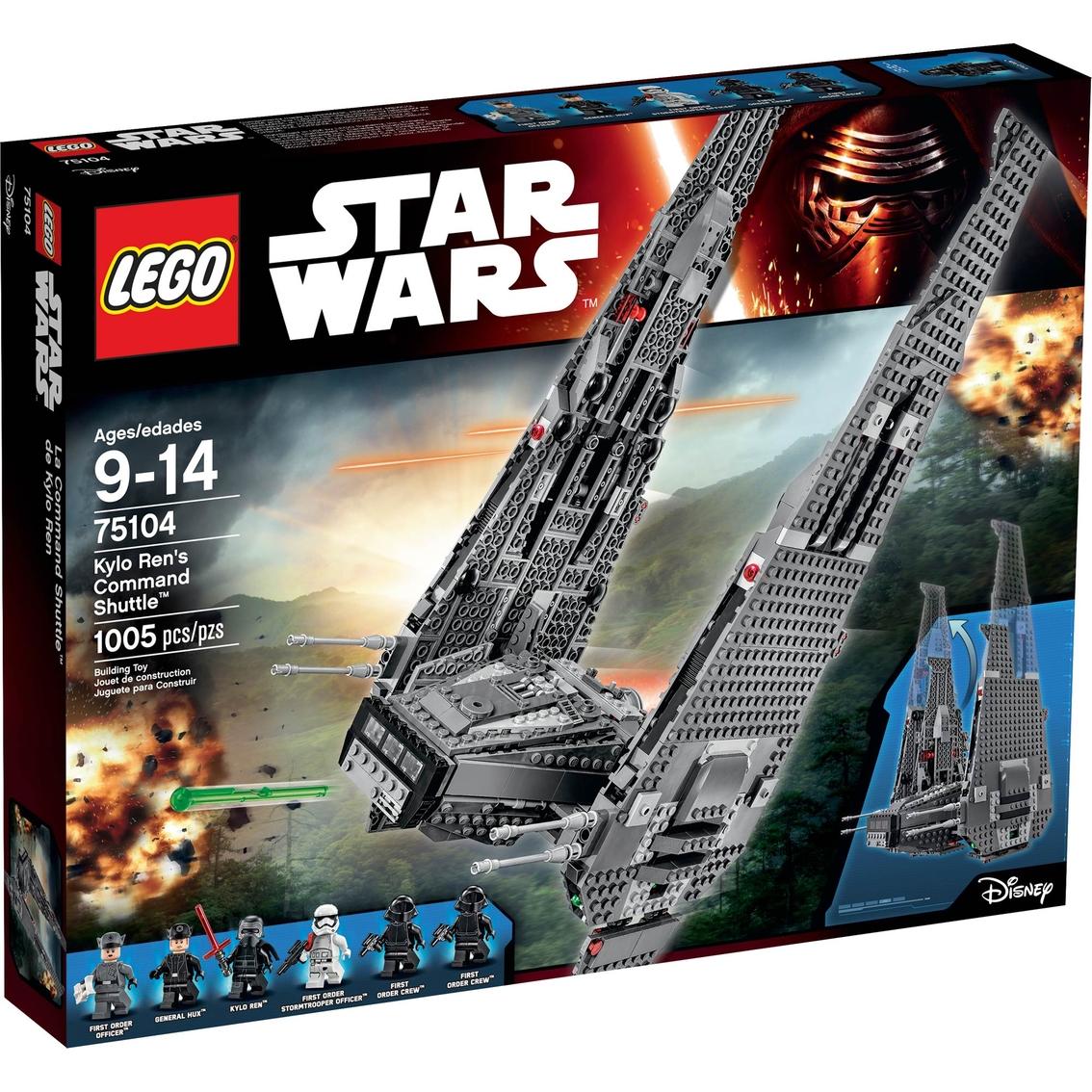Lego Star Wars Kylo Ren's Command Shuttle | Building Toys