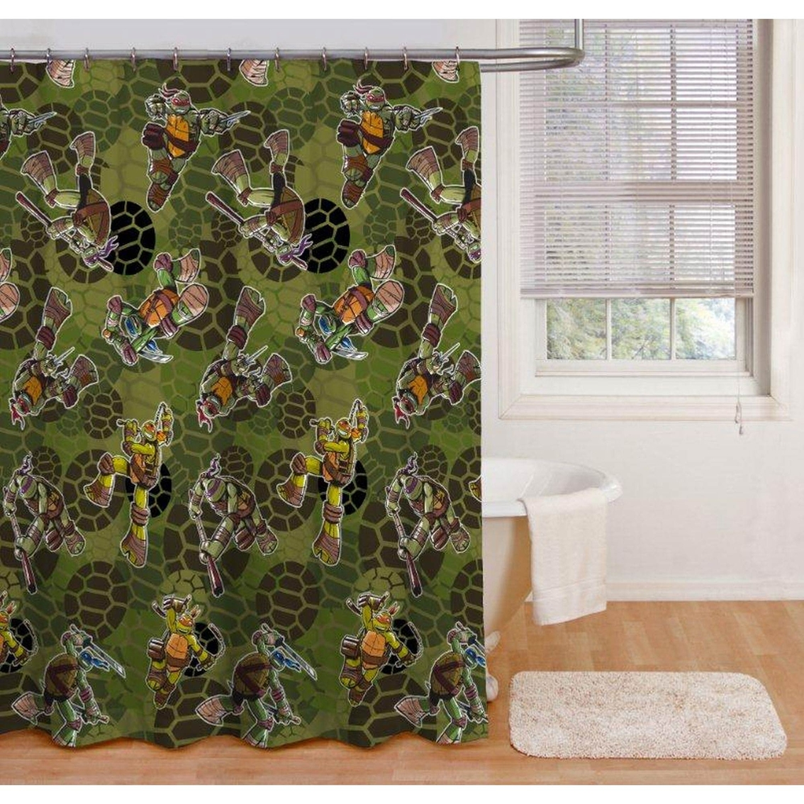 Nickelodeon Teenage Mutant Ninja Turtles Shower Curtain