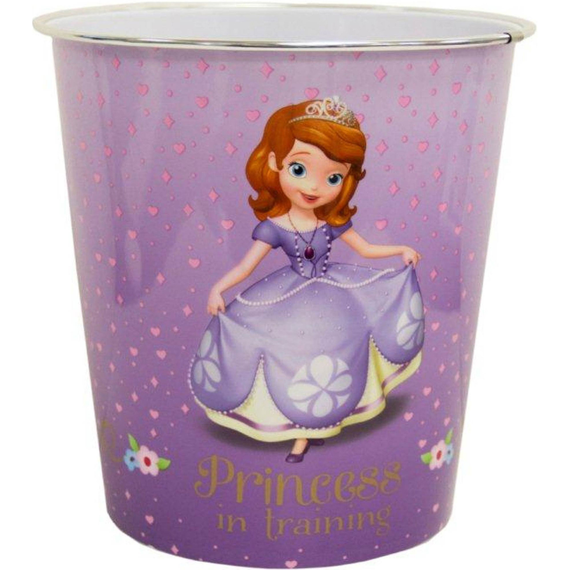 Disney Junior Sofia The First Wastebasket Shower Curtains Bath Rugs Home Appliances