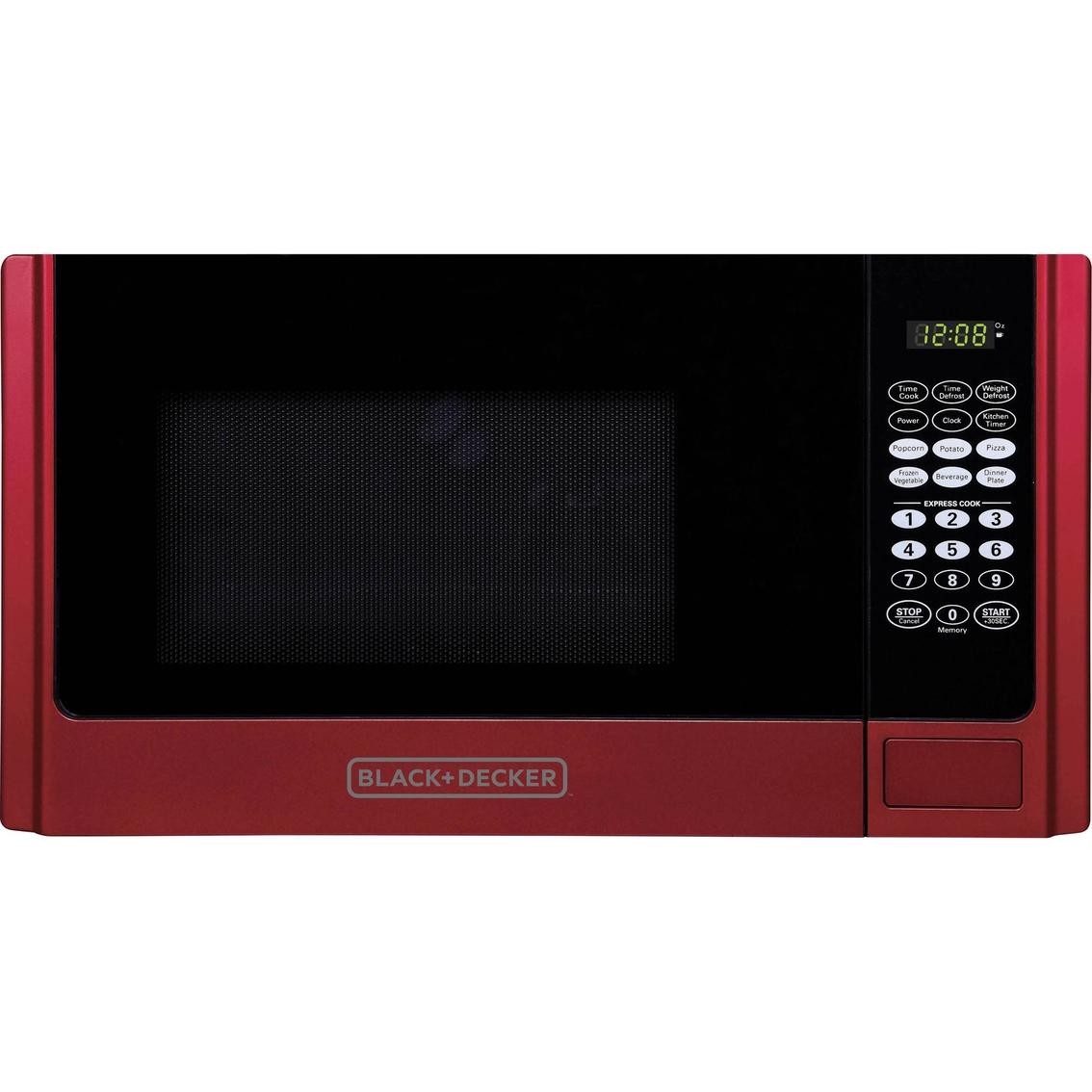 Black Decker 0 9 Cu Ft Microwave Oven