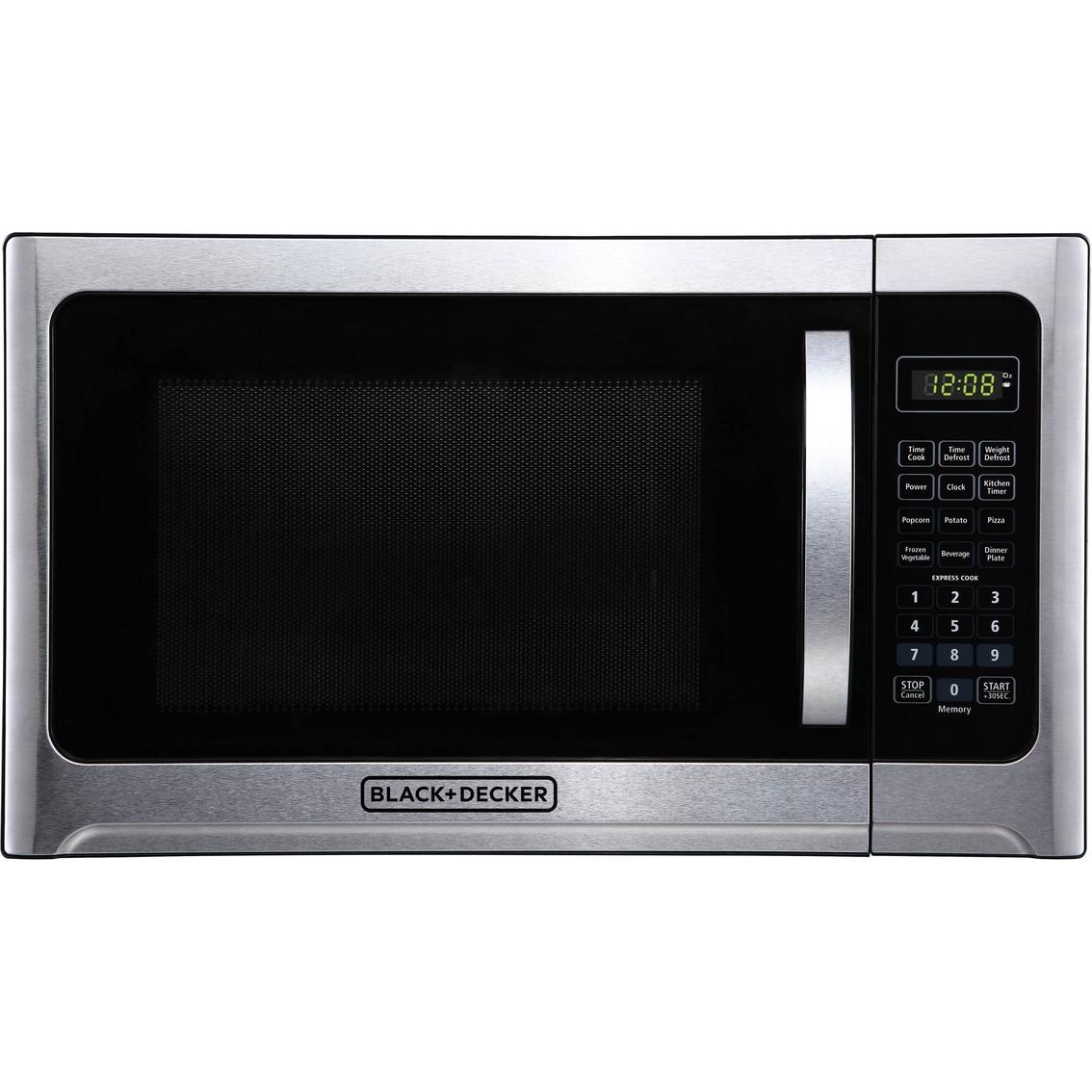 Black Decker 1 2 Cu Ft Microwave Oven