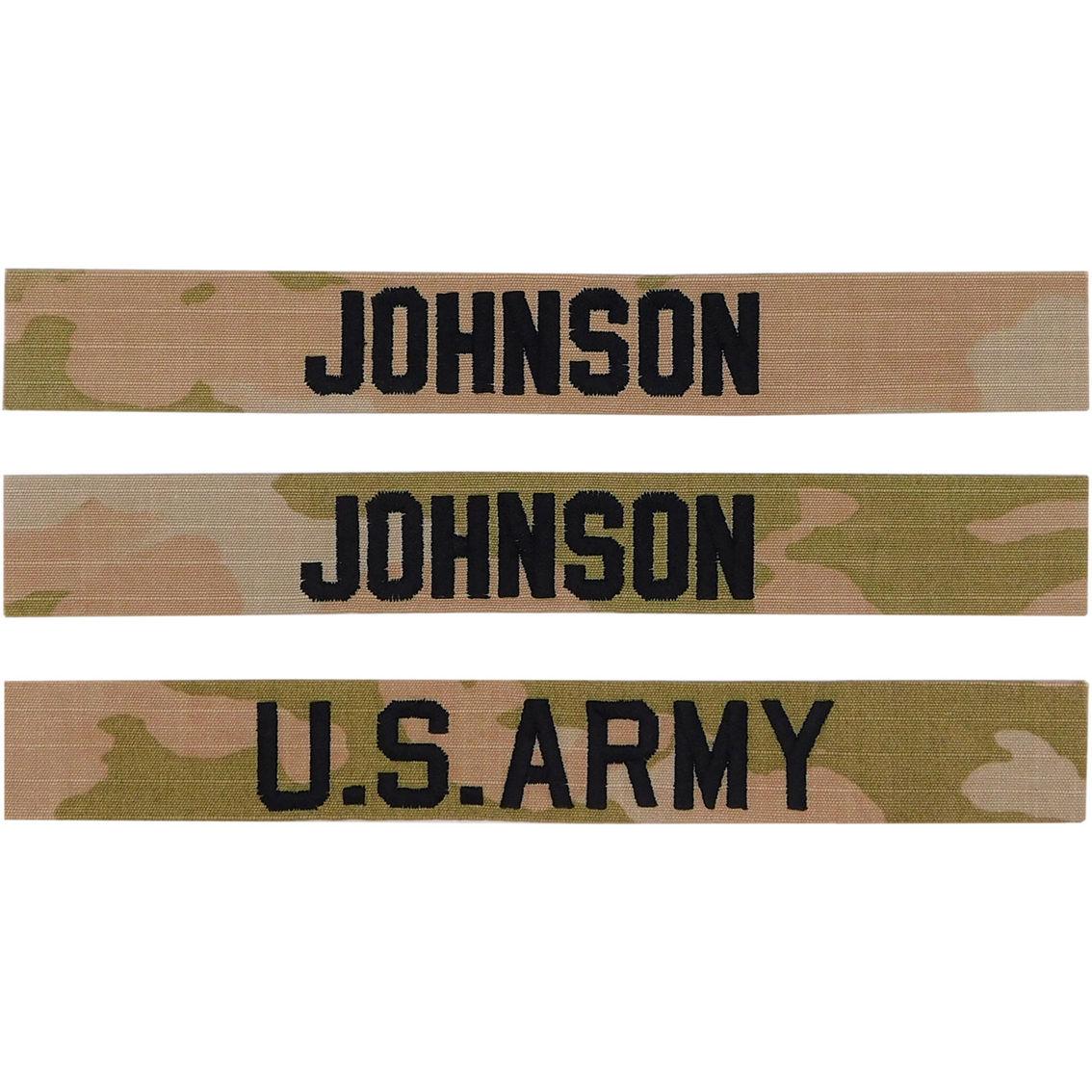 Army Ocp Nametape Kit Sew-on (uniform Builder Item Only