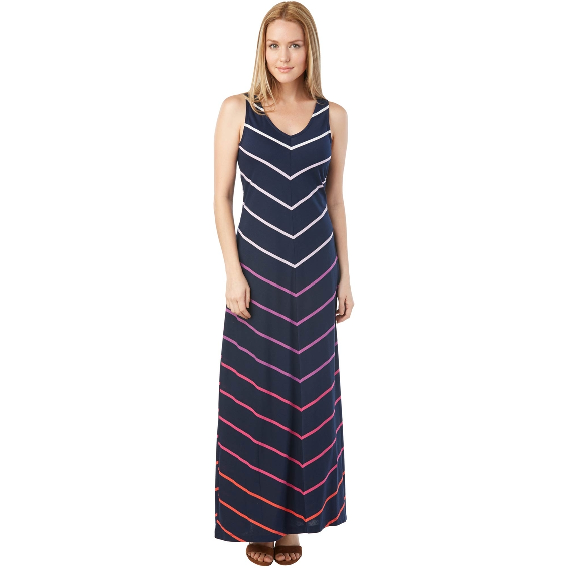 e496a47ba24 Tommy Hilfiger Brittany Chevron Maxi Dress | Dresses | Apparel ...