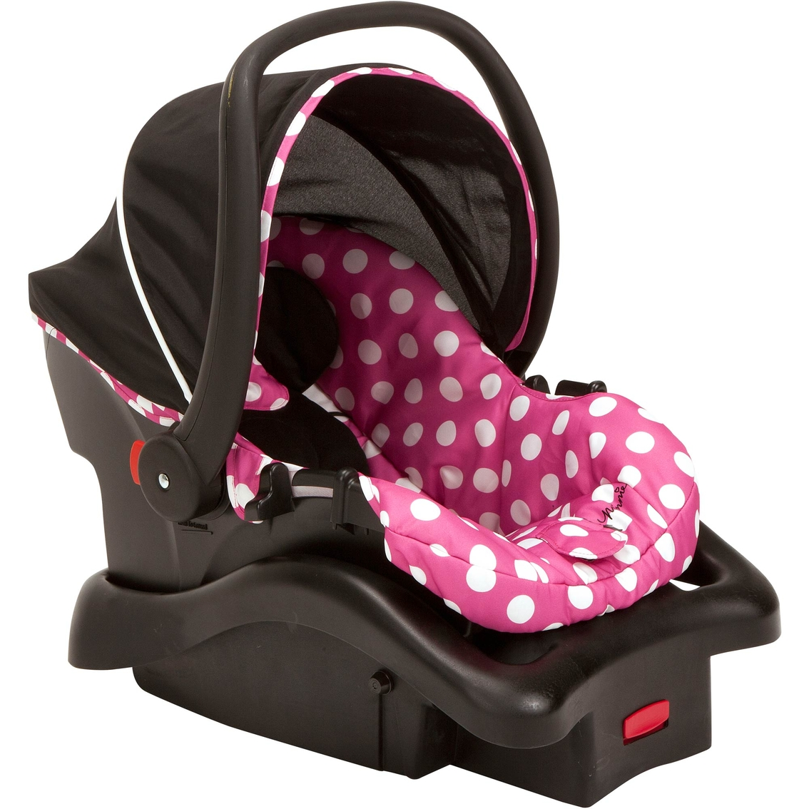 dorel juvenile light n comfy infant car seat minnie mouse infant seats baby toys shop. Black Bedroom Furniture Sets. Home Design Ideas