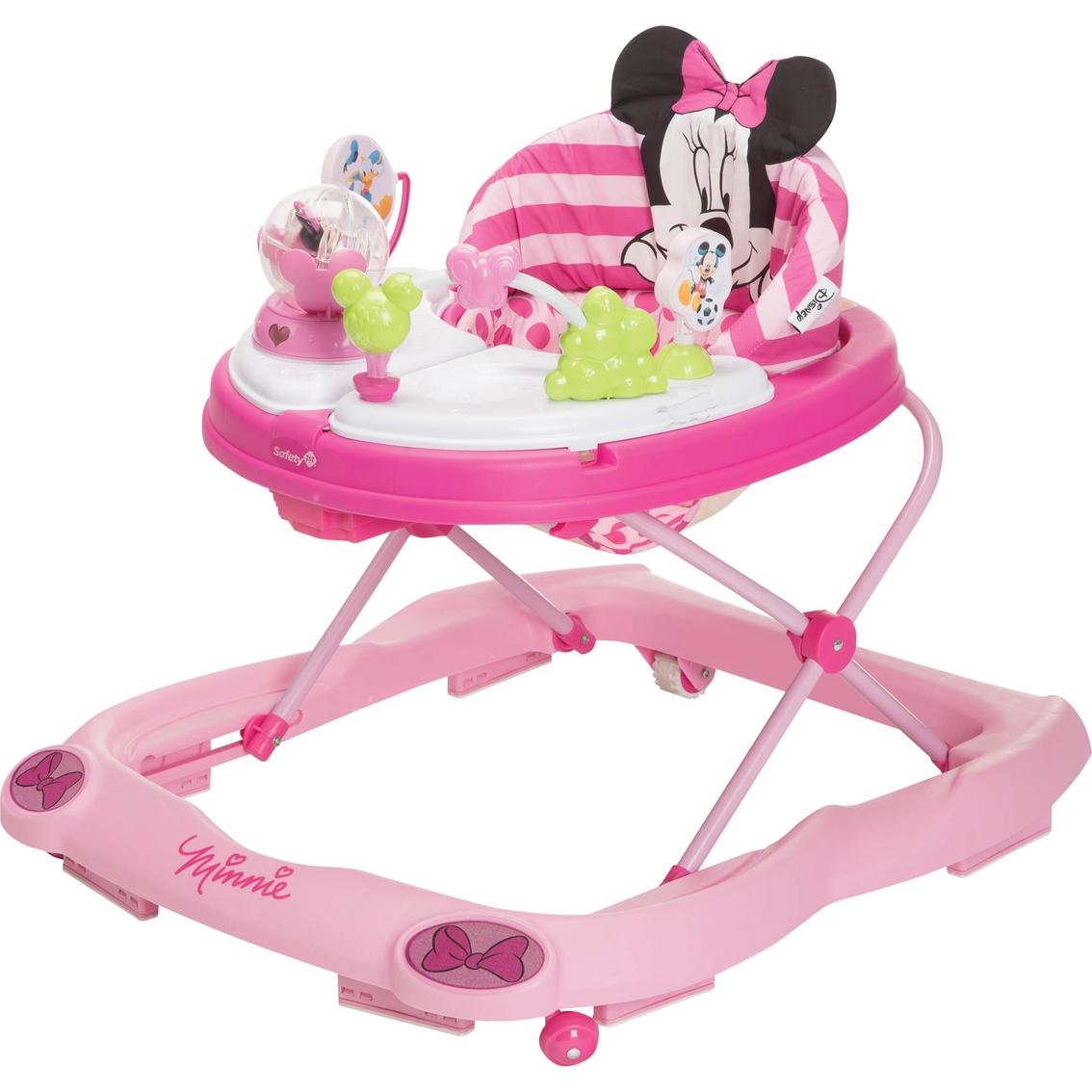 Disney Minnie Mouse 3d Glitter Walker Activity Centers