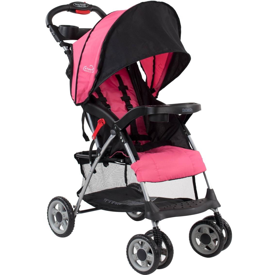 Kolcraft Cloud Lightweight Stroller Pink Single Baby