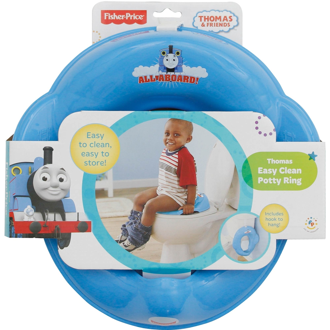 Fisher-price Thomas Easy Clean Potty Ring | Potty Chairs | Baby ...