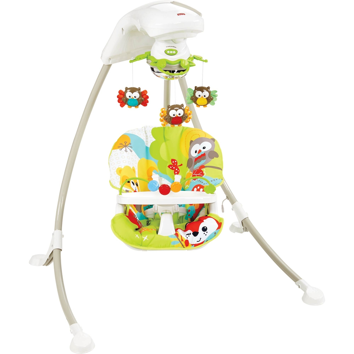 Fisher Price Woodland Friends Cradle Swing Swings