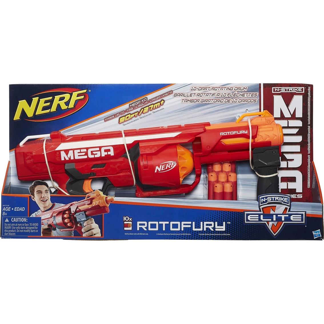 Nerf Target Toys For Boys : Nerf n strike mega series rotofury blaster toys shop