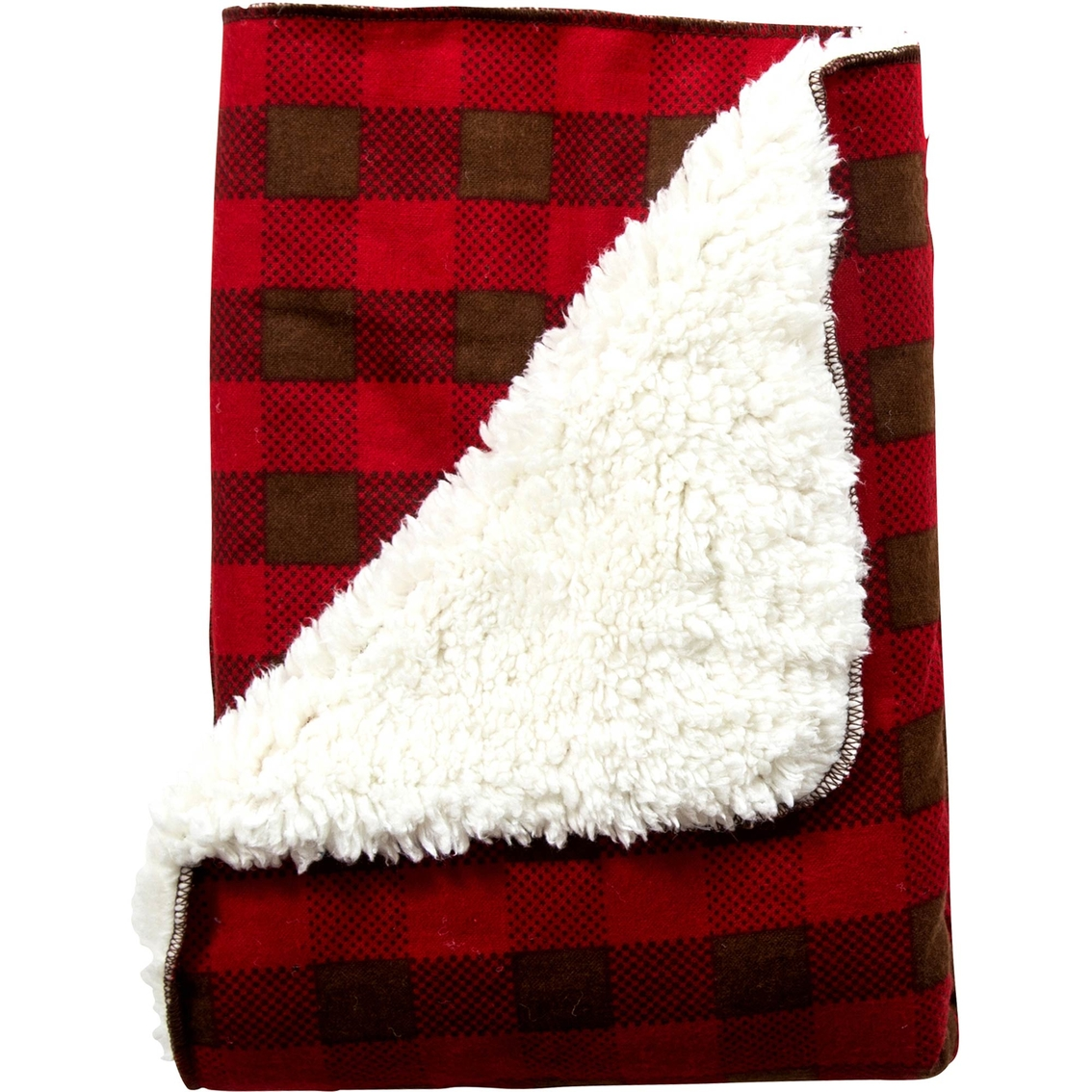 Trend Lab Northwoods Plush Receiving Blanket Blankets