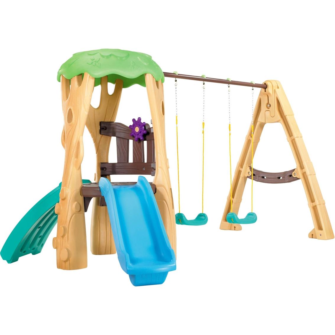 Little Tikes Tree House Swing Set Swingsets Slides Climbers