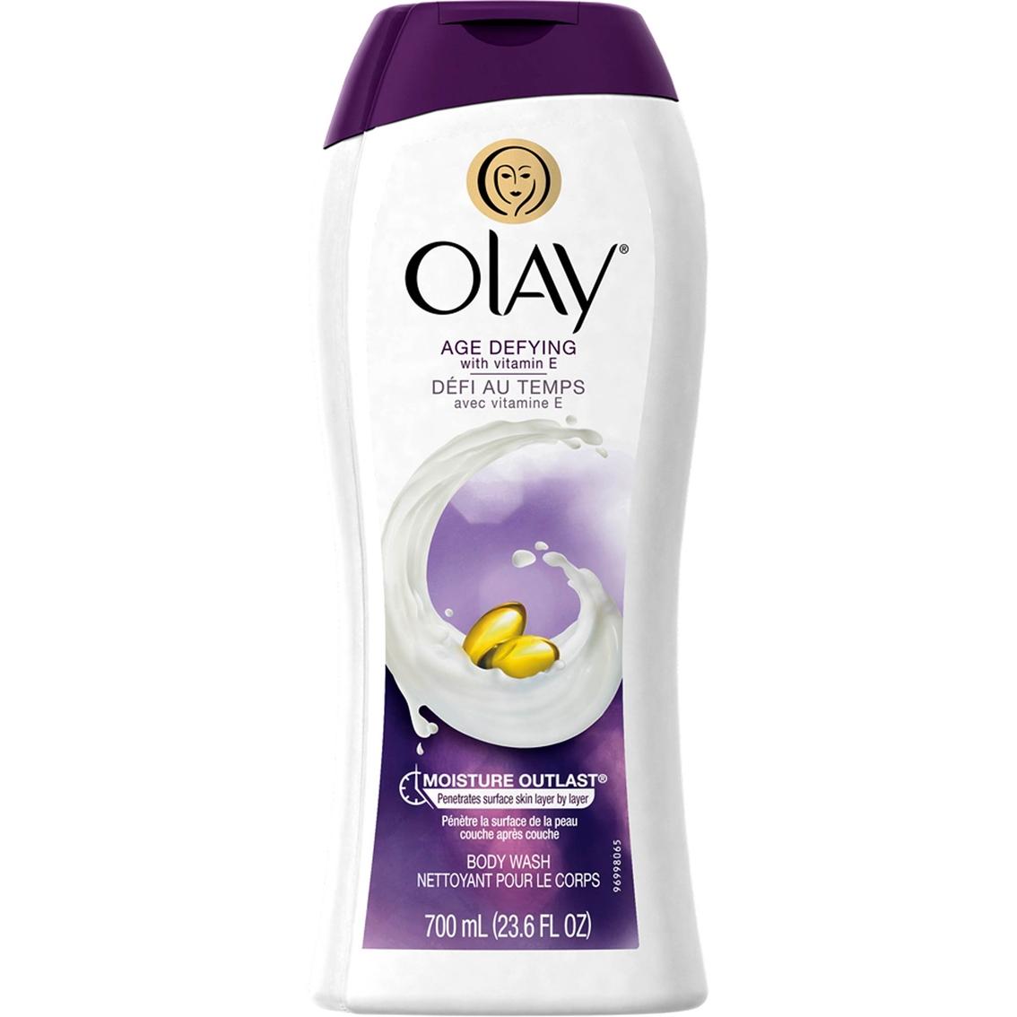 Olay Age Defying Body Wash With Vitamin E Hair Care Moisturising Lotion