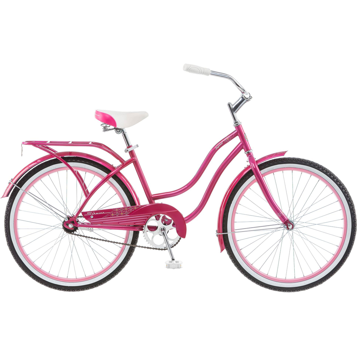 2963e37b3b2 Schwinn Girls Baywood 24 In. Cruiser Bicycle | Kids' Bikes | Sports ...