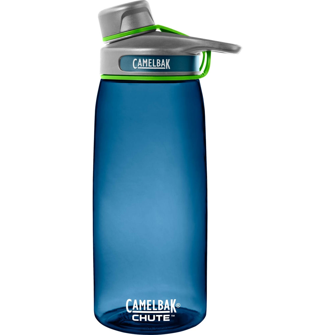 camelbak chute 1 liter water bottle blue hydration sports outdoors shop the exchange. Black Bedroom Furniture Sets. Home Design Ideas