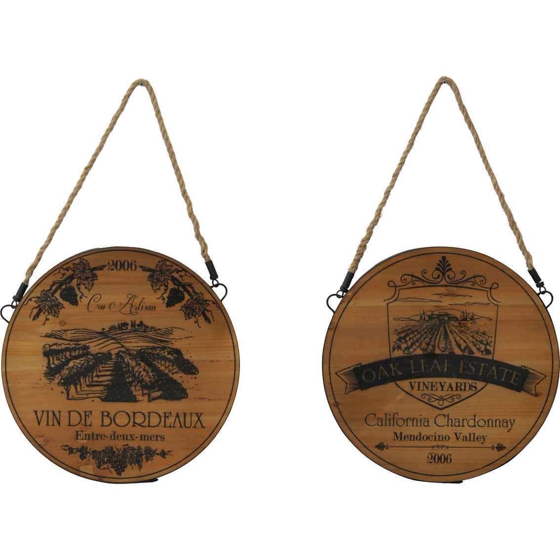 simply perfect rustic wood wine barrel label 2
