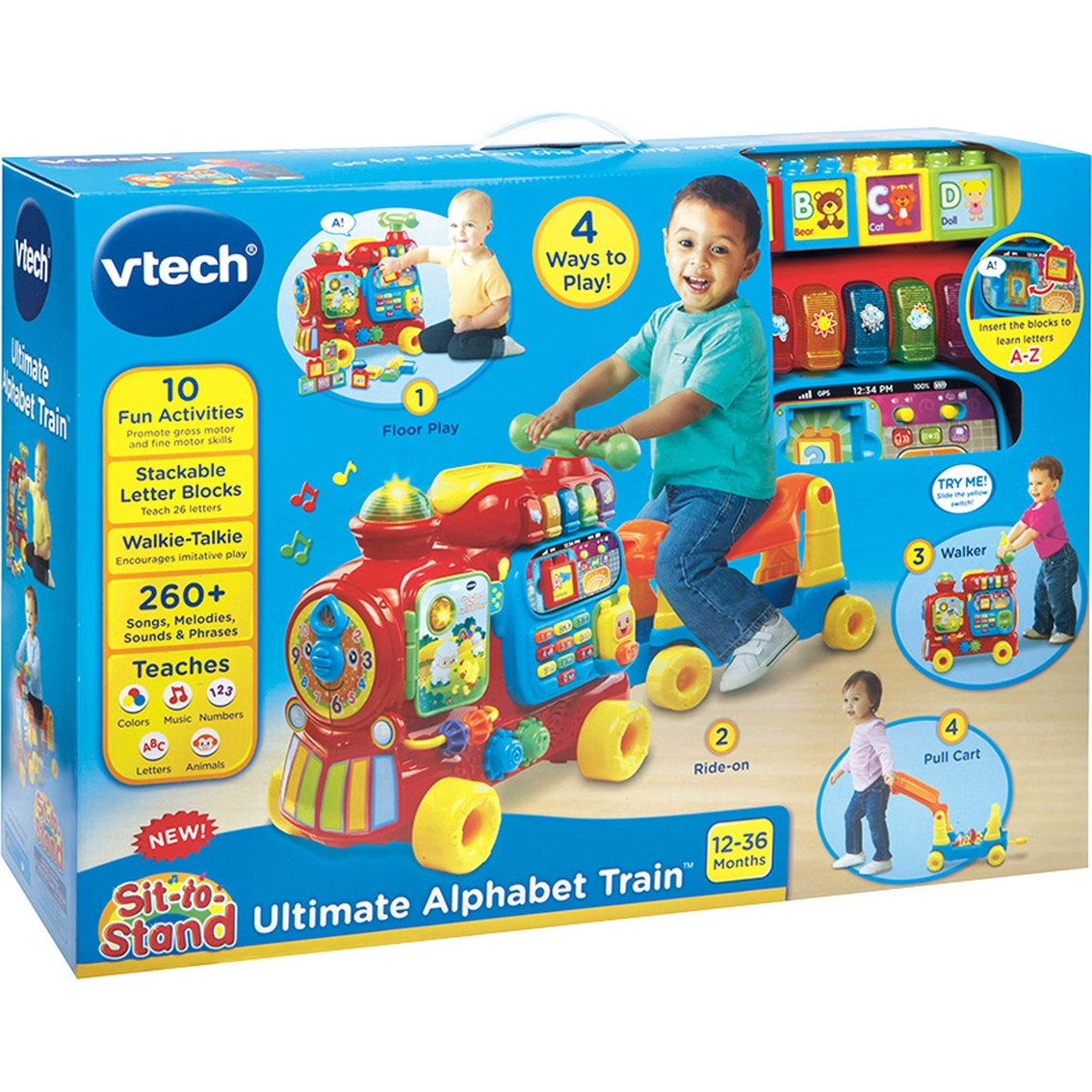 Vtech Sit-to-stand Ultimate Alphabet Train | Learning