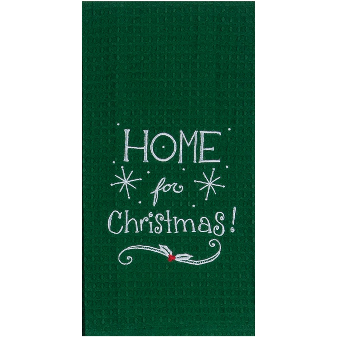 Kay dee designs home for the holiday embroidered waffle Kay dee designs kitchen towels