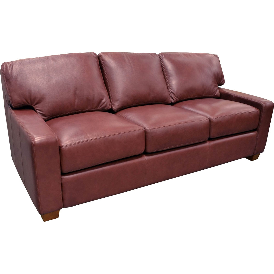 Omnia Leather Albany Sofa