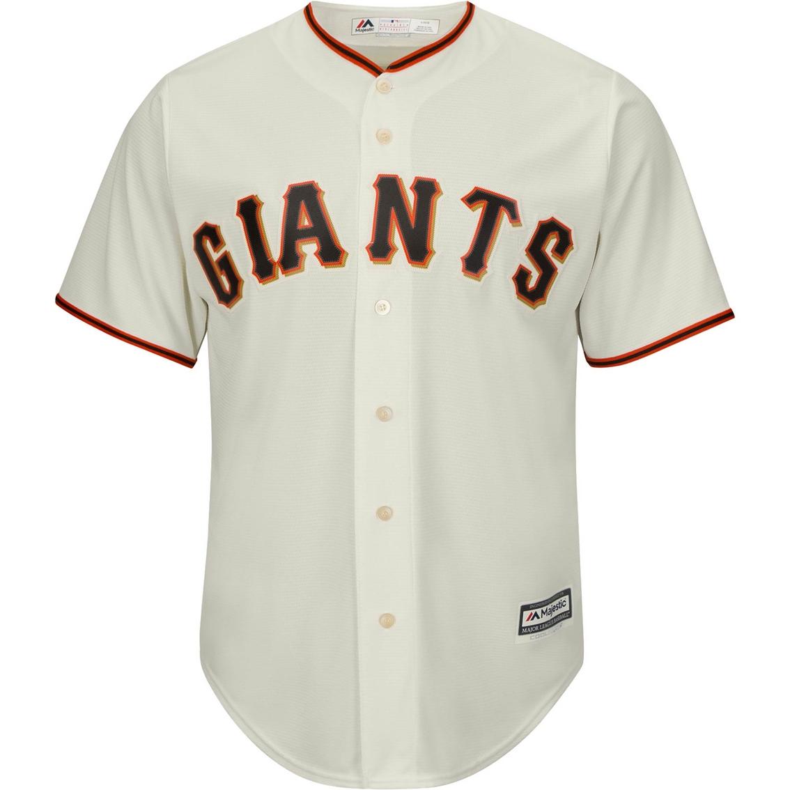 794c16d5 Majestic Mlb San Francisco Giants Replica Home Jersey | Shirts ...