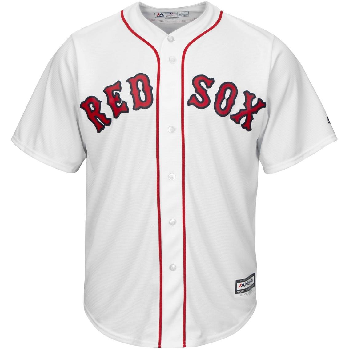 1a8e8a9774c Majestic Mlb Boston Red Sox Men s Replica Home Jersey