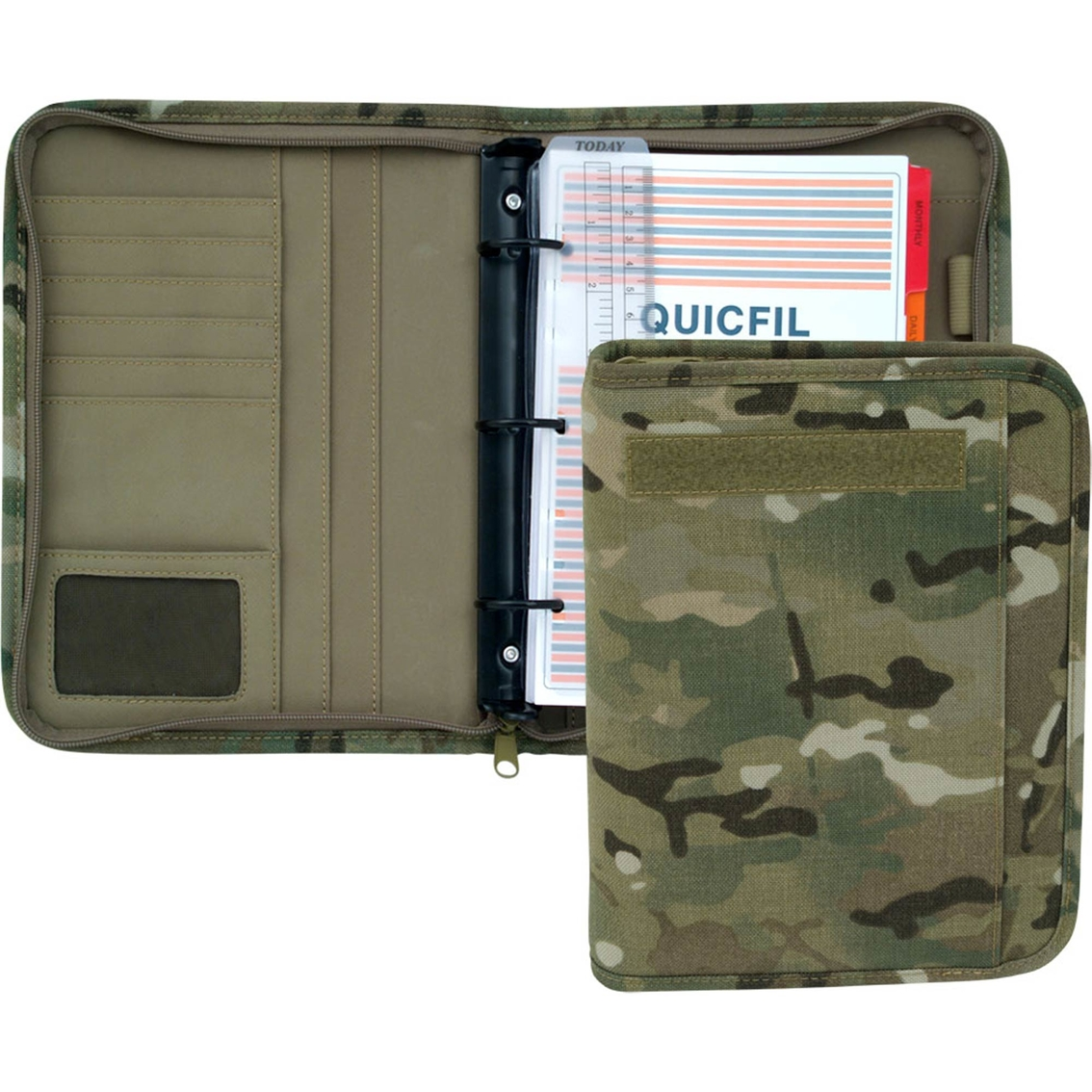 photograph about Large Daily Planner titled Mercury Baggage Multicam Major Working day Planner Brand Devices