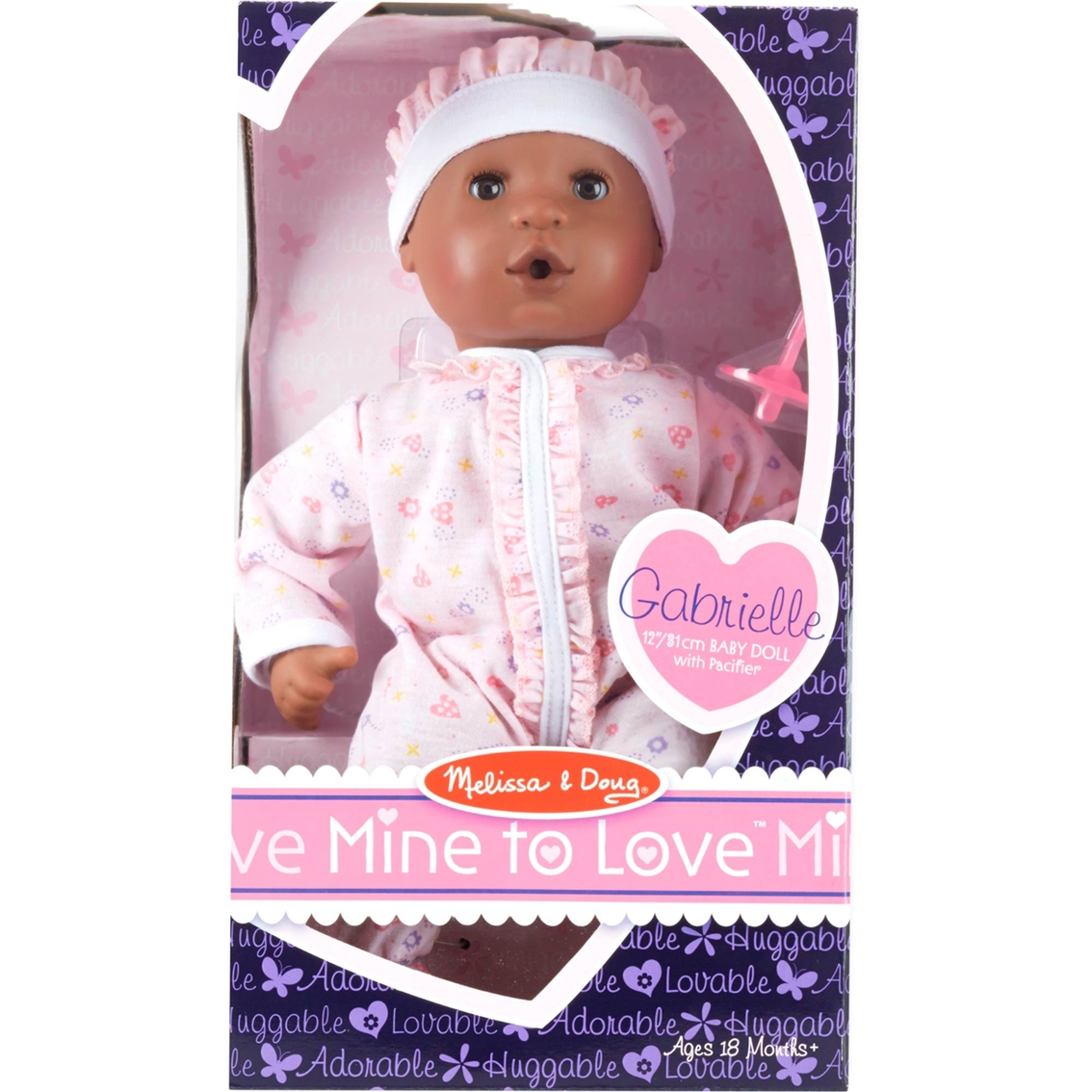 Melissa And Doug Mine To Love Gabrielle 12 In Doll African