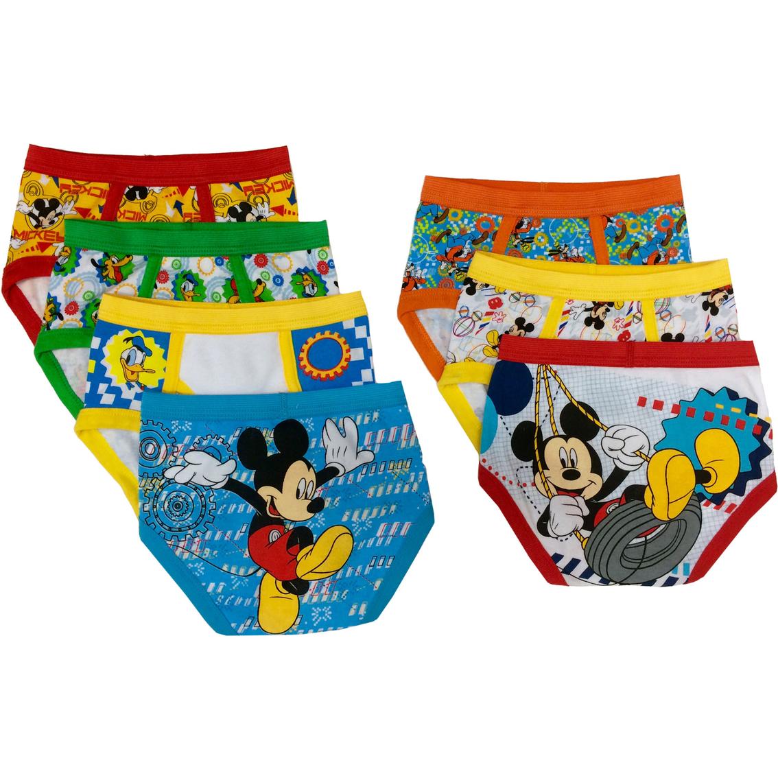 Disney Mickey Mouse Toddler Boys Briefs 7 Pk Toddler
