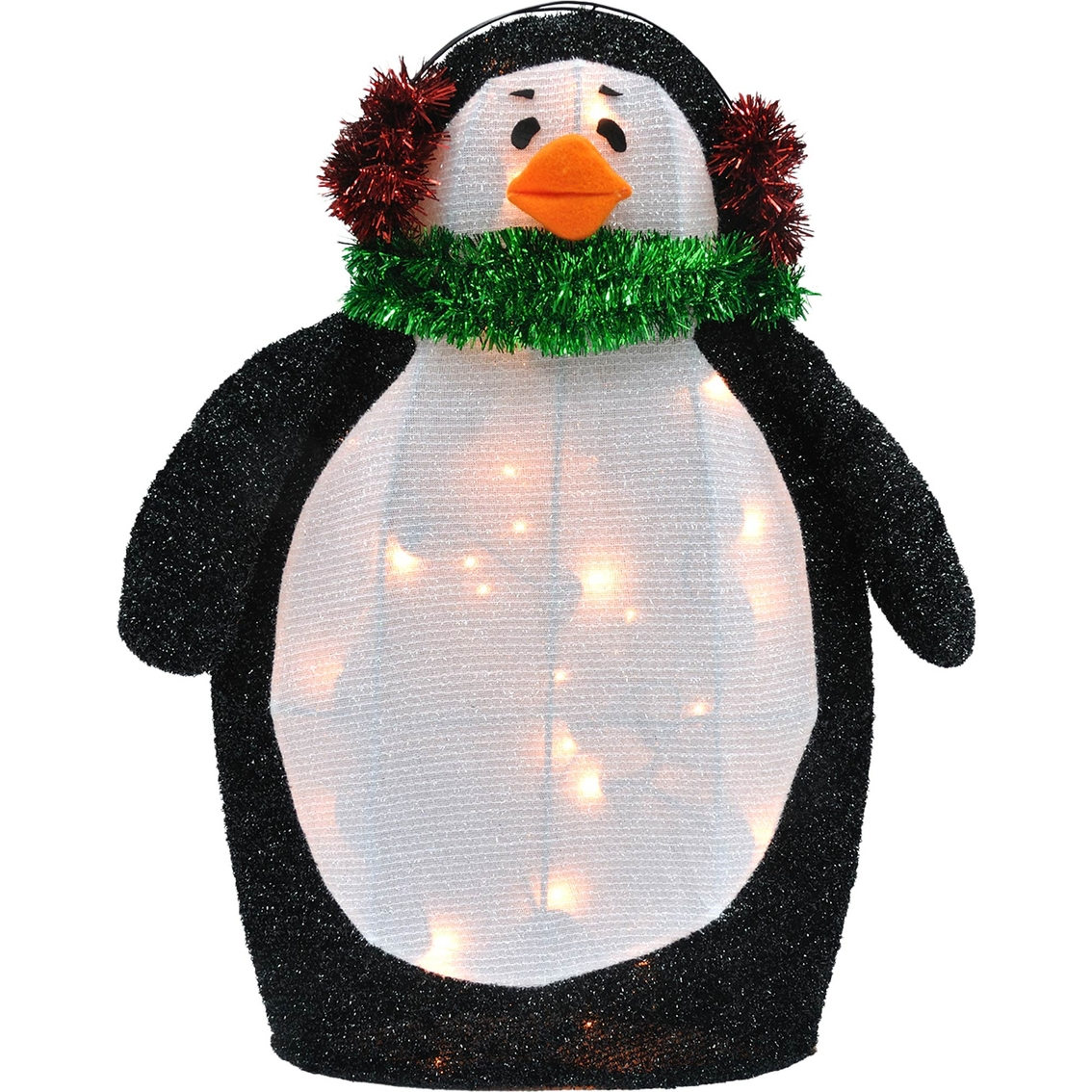 Jet Max Limited Christmas Lighted Fabric Penguin