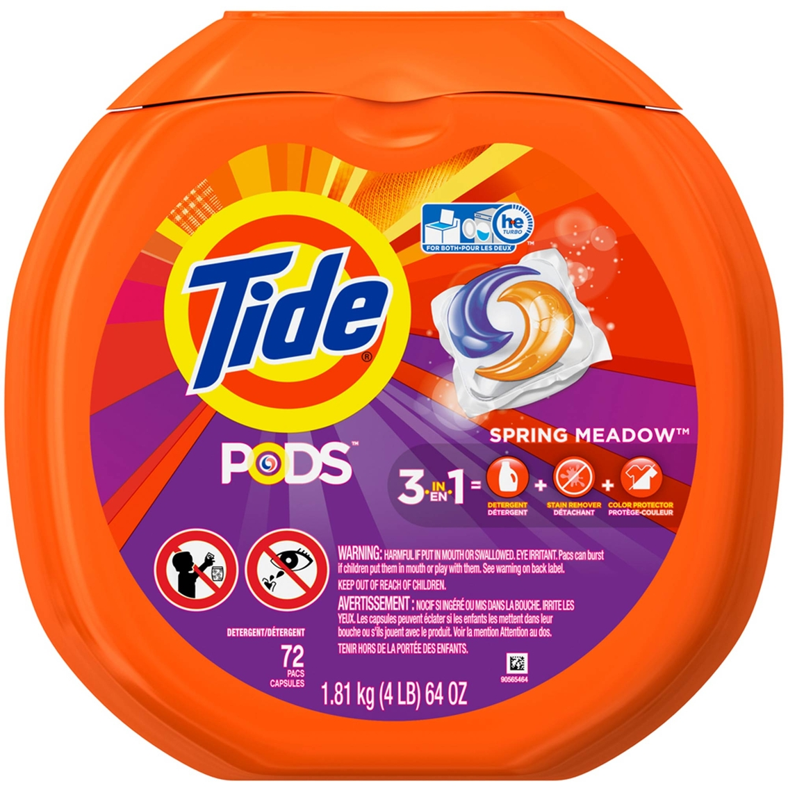 tide pods spring meadow laundry detergent pacs detergents