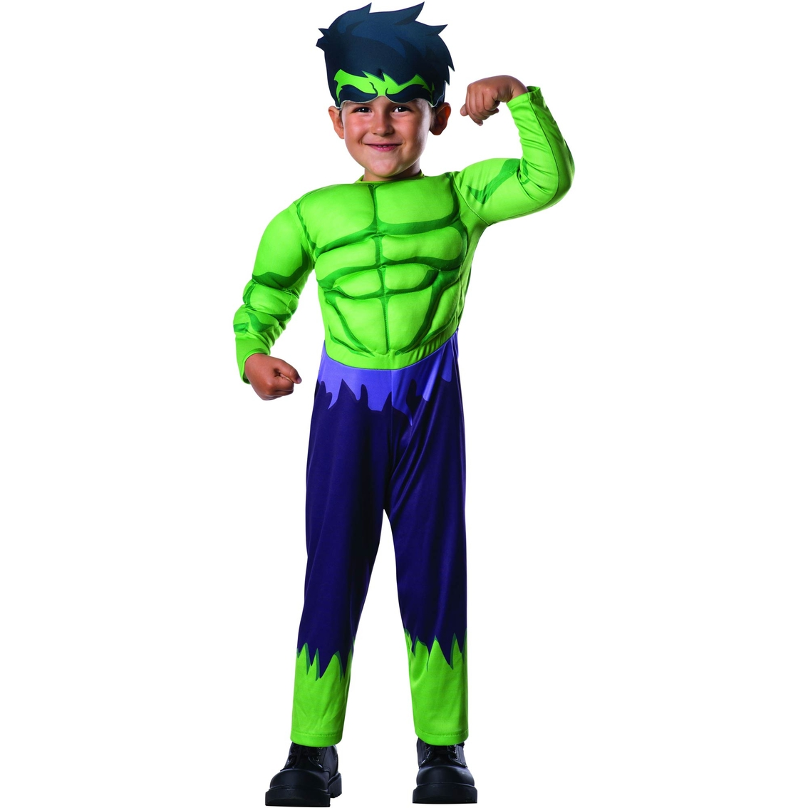 Rubieu0027s Costume Co. Toddler Boys Hulk Muscle Costume Small (2T-4T)  sc 1 st  ShopMyExchange.com : baby muscle costume  - Germanpascual.Com