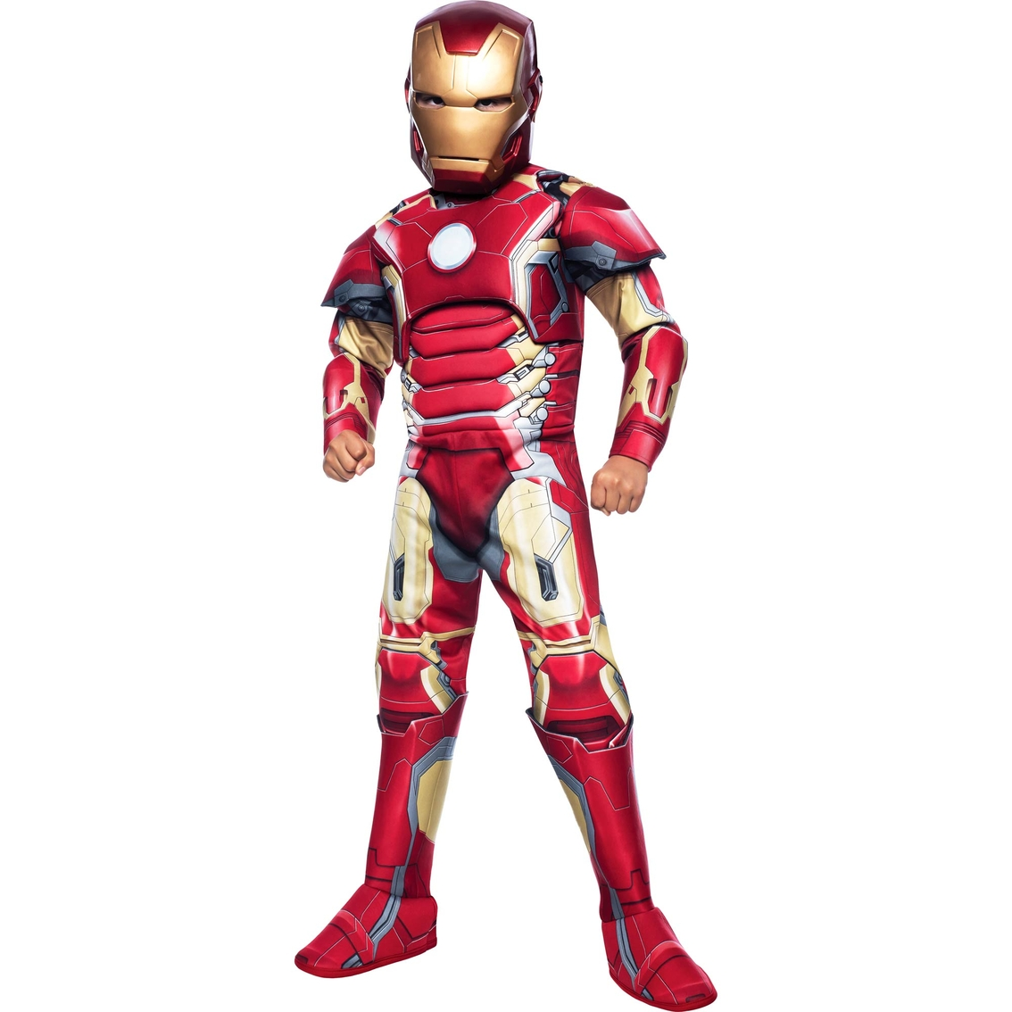 Rubie S Costume Co Boys Deluxe Iron Man Movie Costume Costumes