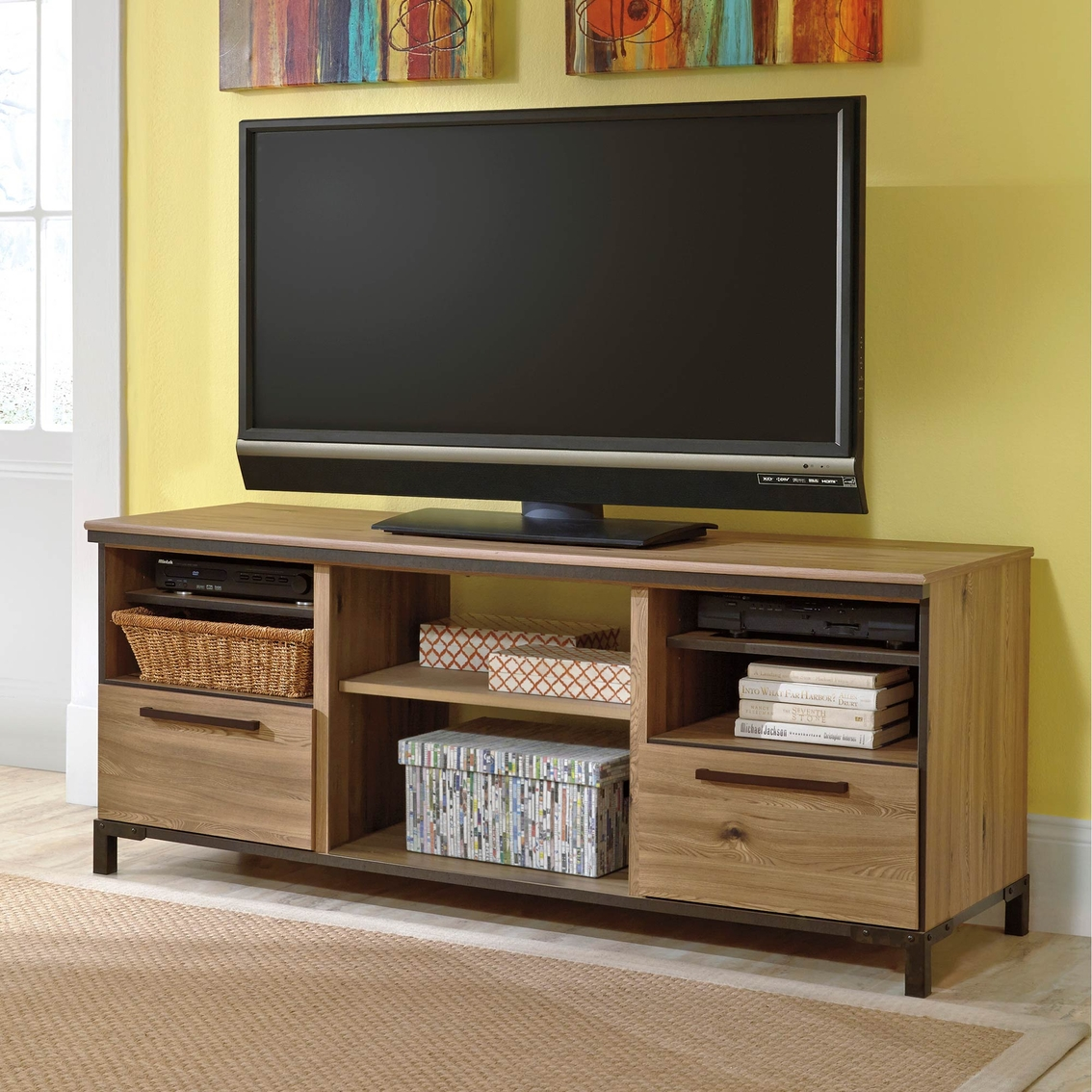 Ashley Dexifield Tv Stand Entertainment Furniture Home Appliances Shop The Exchange