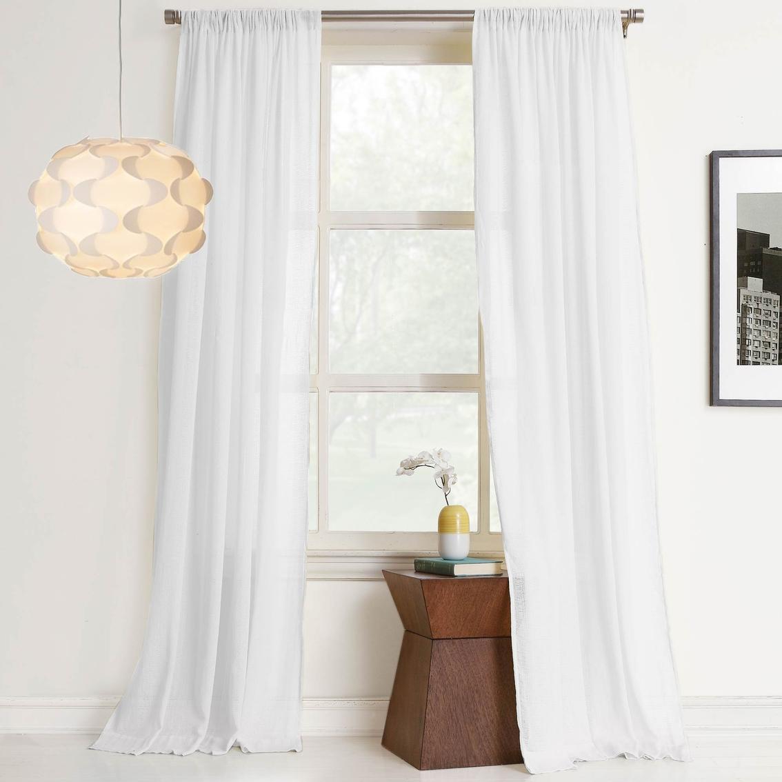 No 918 Millennial Hendricks 50 X 63 Cotton Gauze Curtain Panel