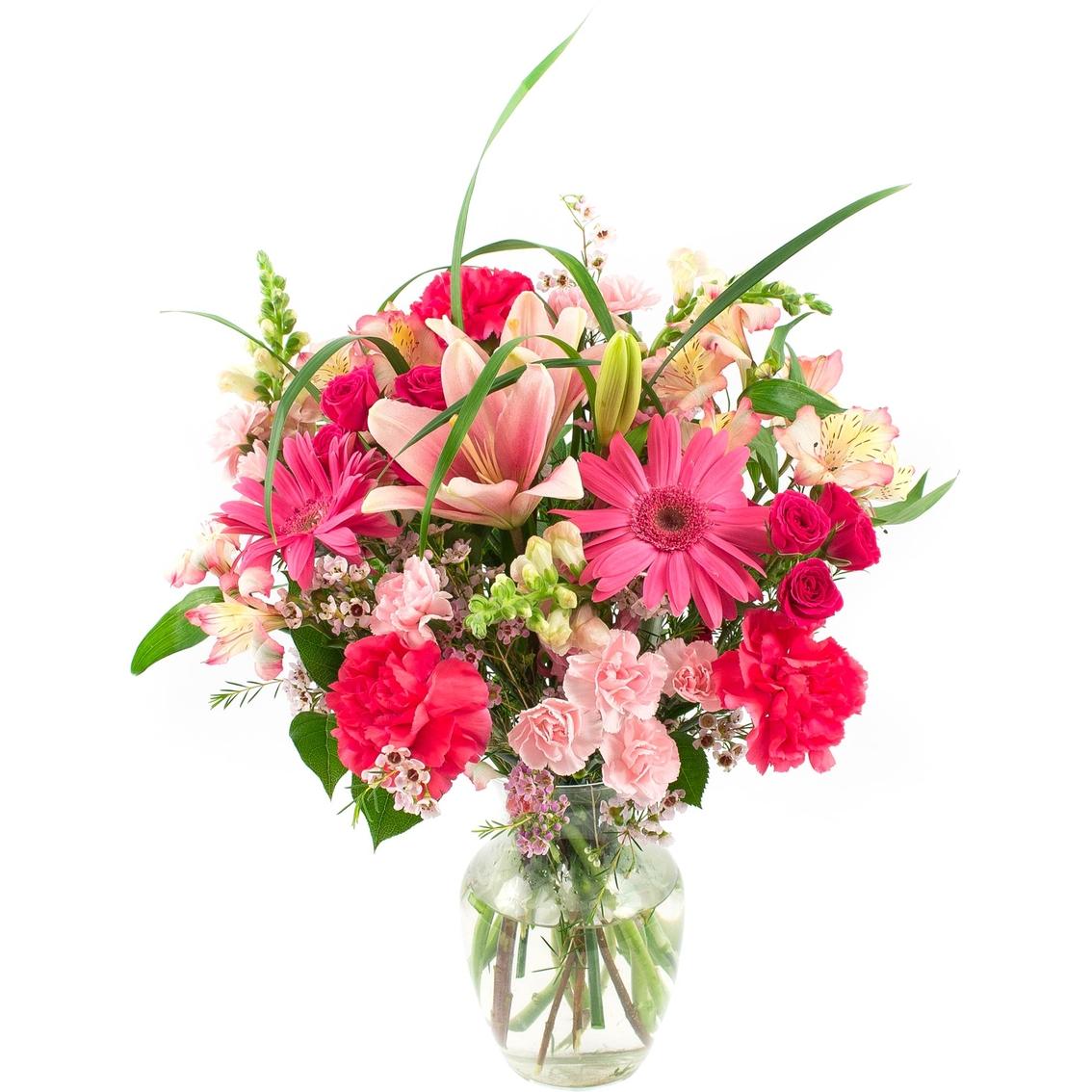 Flower Baskets Usa : Usa bouquet royal pink flower