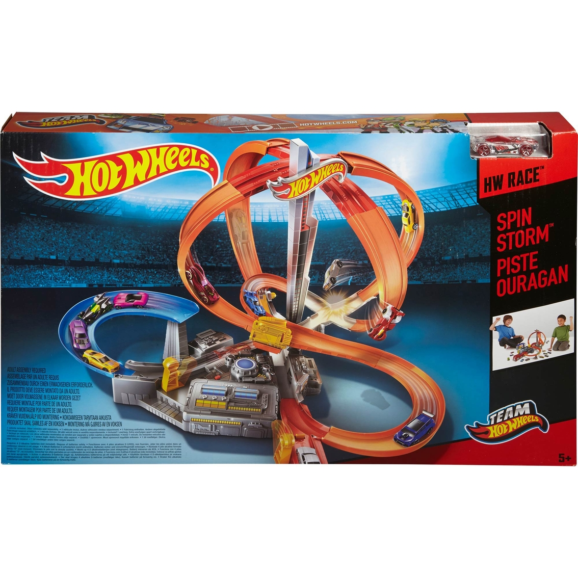 Hot Wheels Spin Storm Track Set Race Tracks Baby Toys Shop