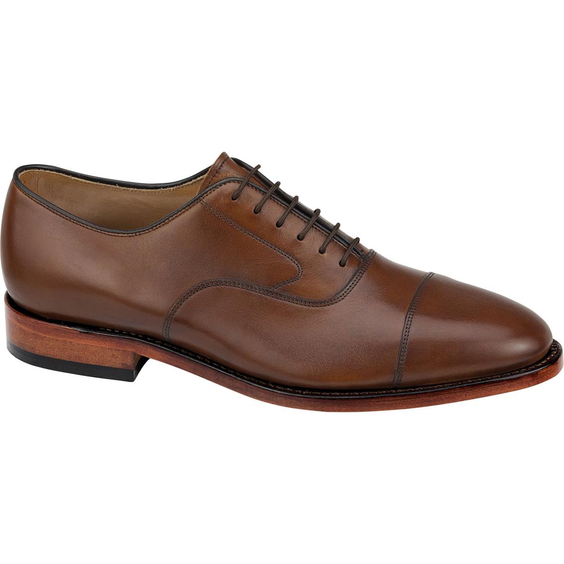Johnston Amp Murphy Men S Melton Cap Toe Oxford Shoes