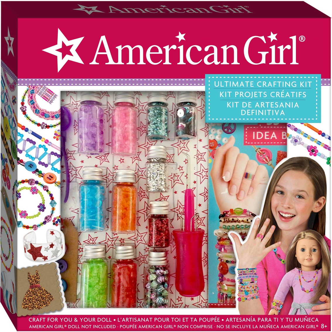 Toys And Girls : Fashion angels american girl ultimate crafting kit kids