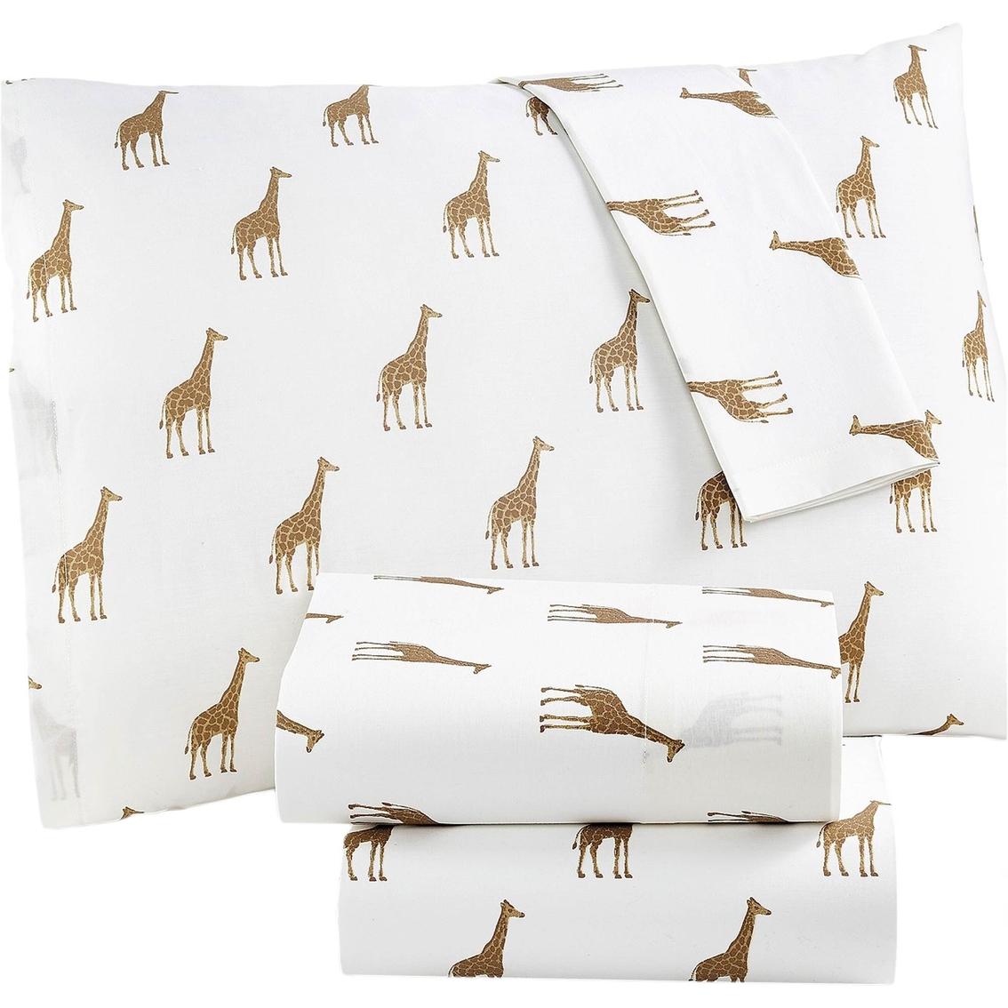 Martha Stewart Collection Whim Giraffe 200 Thread Count Percale ...