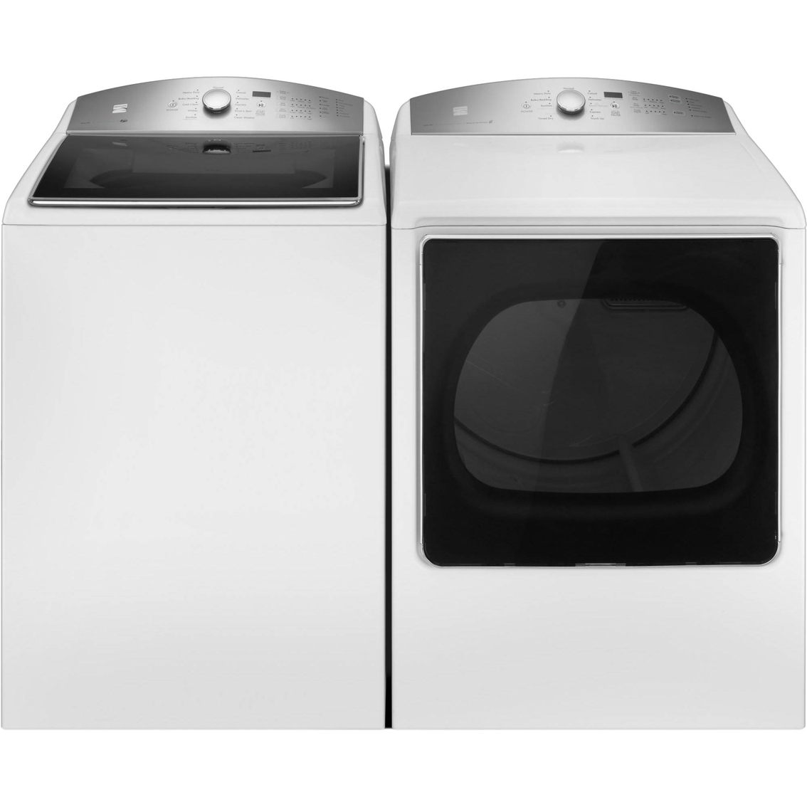 Kenmore 5 3 Cu Ft Top Load Washer 8 8 Cu Ft Electric