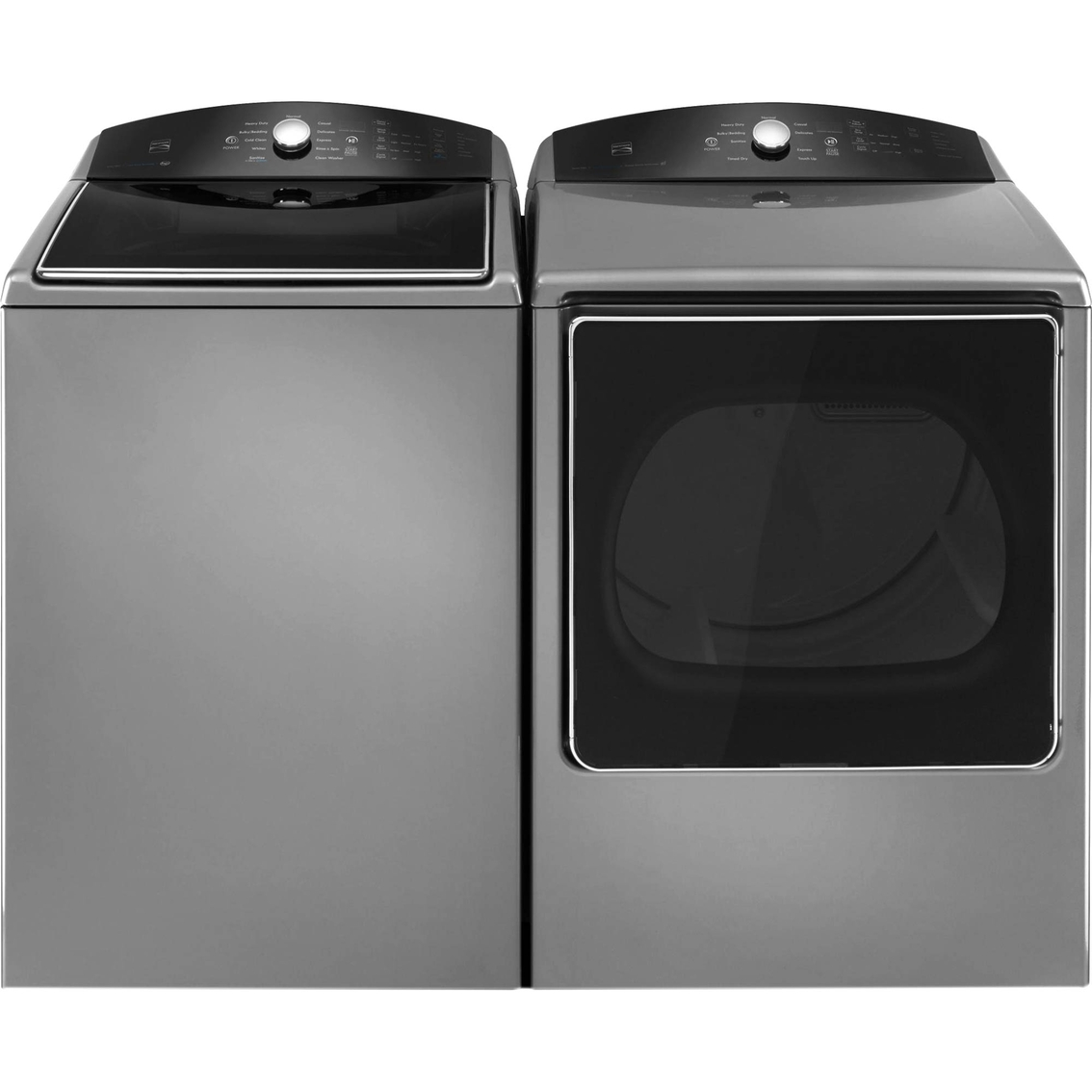 Black Washer And Dryer Combo