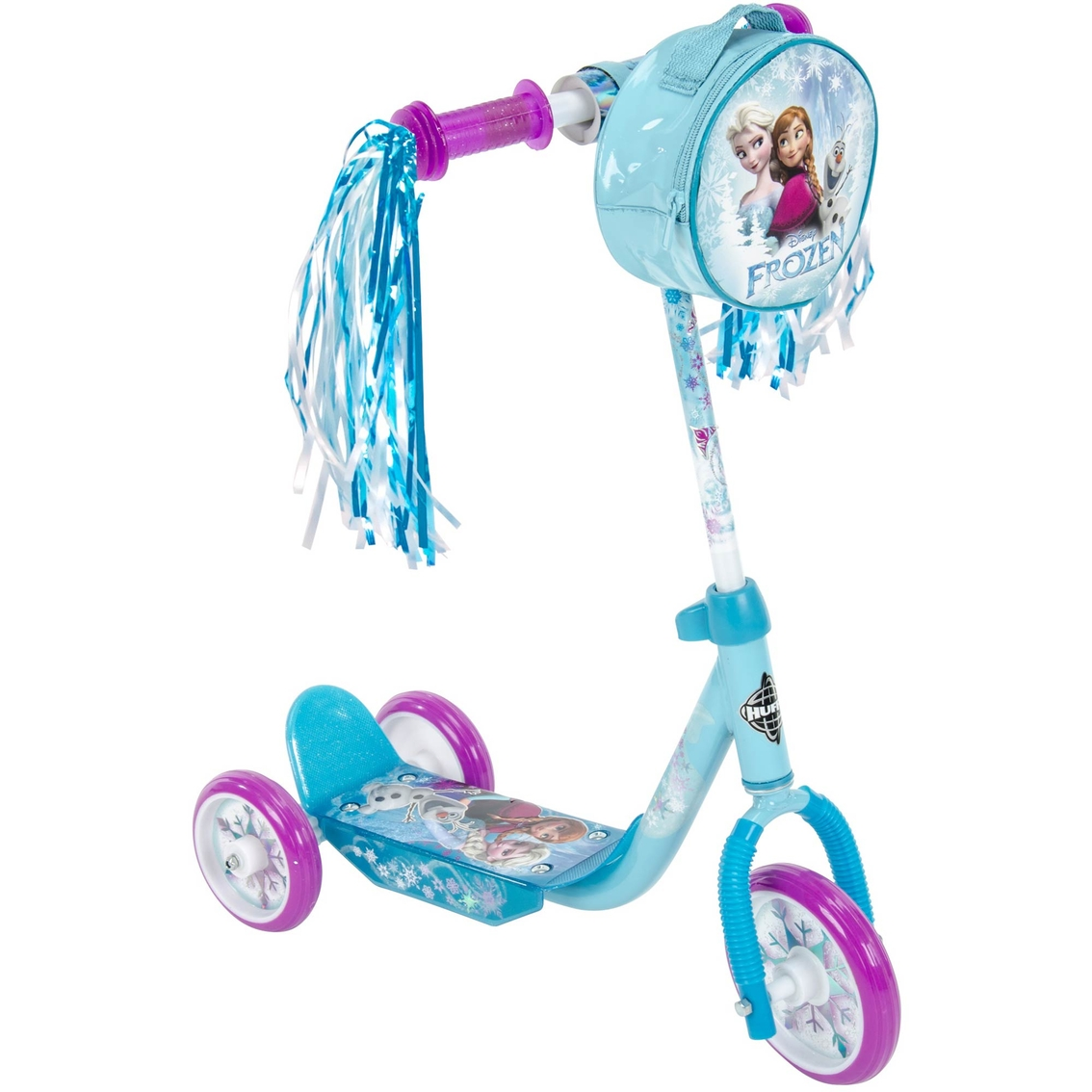 Huffy Disney Frozen 3 Wheel 6 In Scooter With Elsa And