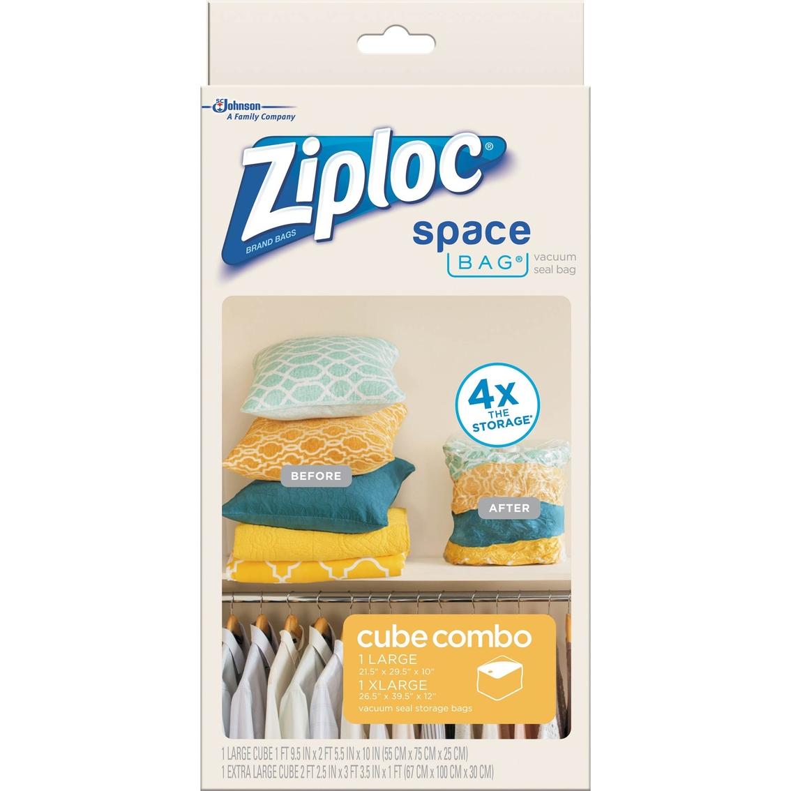 Bon Ziploc Space Bag Cube Combo 2 Pk.