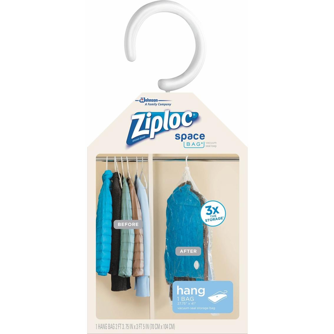b0902616dfb2 Ziploc Space Bag Hanging Suit Storage